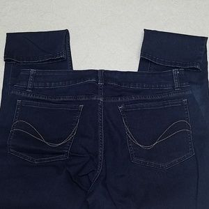Jean's, Riders by Lee, mid rise skinny, stretchy